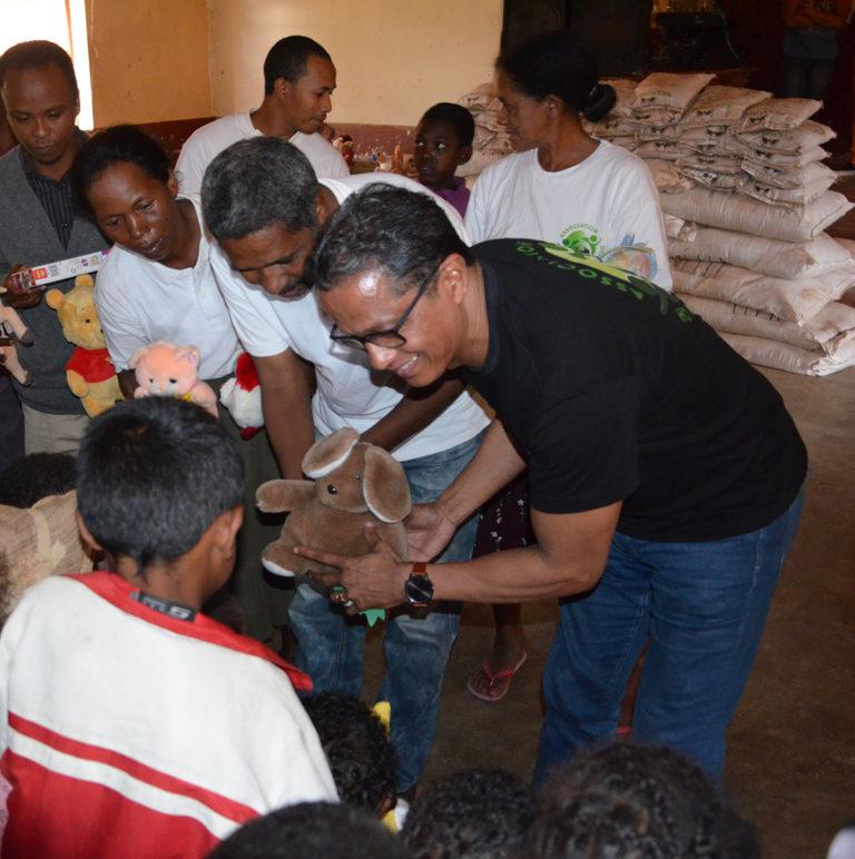 Enfants de l'Orphelinat « Samaritana Fandriana »